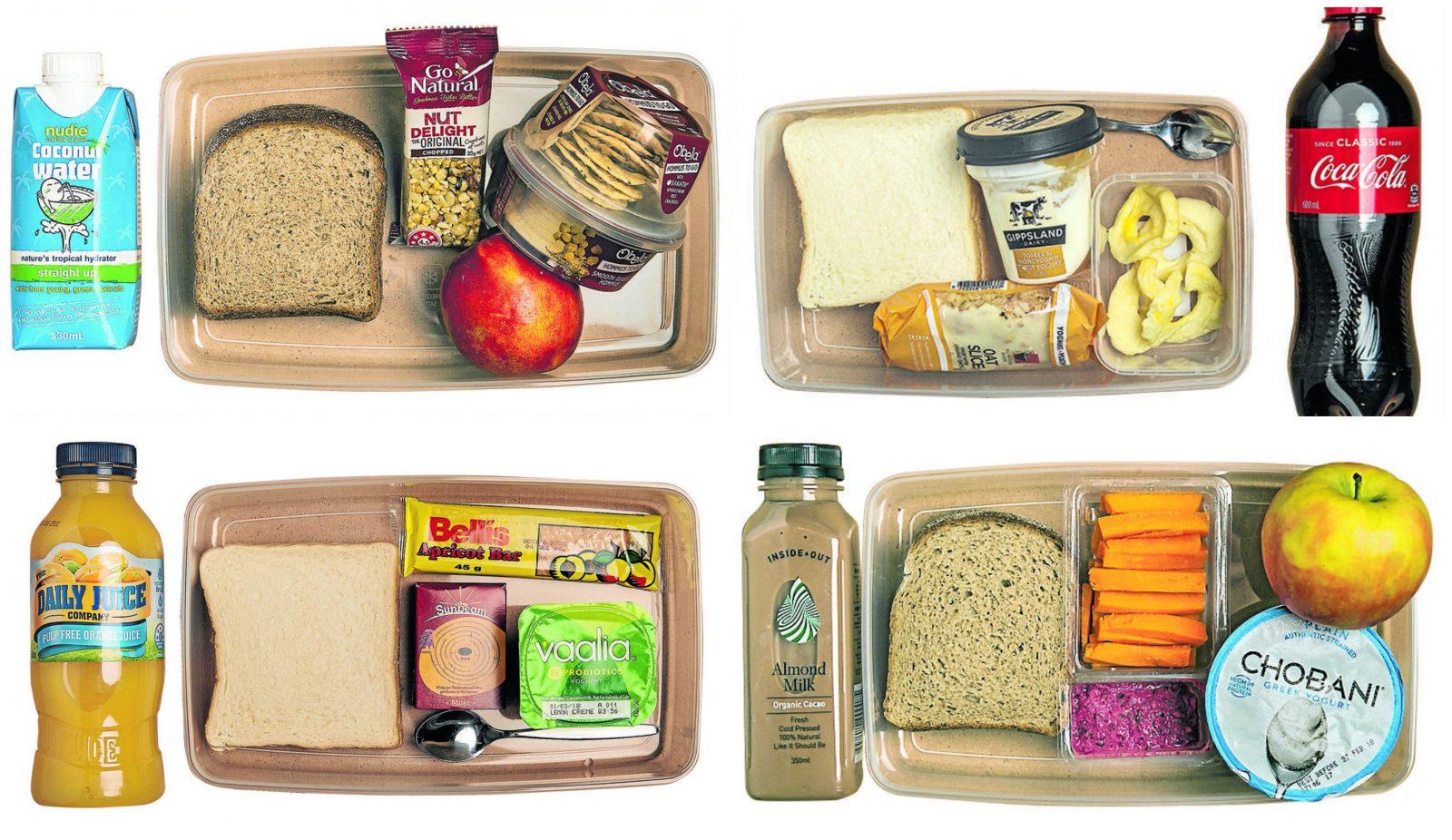 sugar in school lunchbox